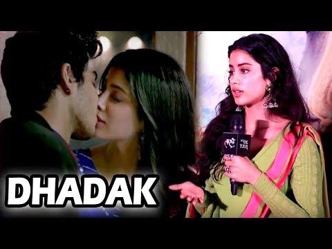 Dhadak - Ishaan Khattar संग Kissing Scene पर सबसे पहले Reaction दिया Janhvi Kapoor ने,जानिए क्या कहा