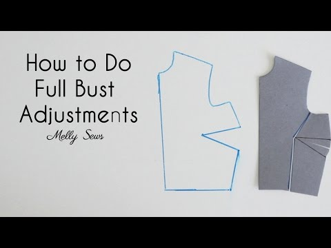 How to do Full Bust Adjustments