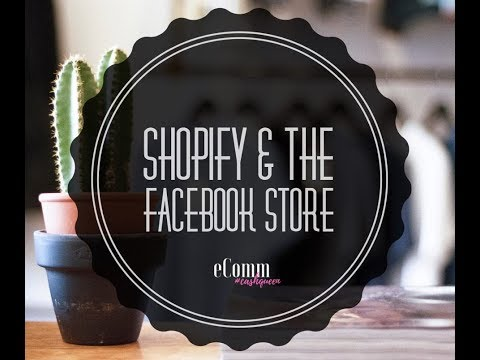 How to Publish Products to the Facebook Store - Publishing Products Online - Facebook Store Tutorial