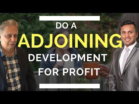 Property Development Australia - How to Develop Adjoining Sites