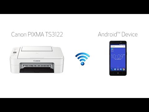 Setting up Your Wireless Canon PIXMA TS3122- Easy Wireless Connect with an Android Device