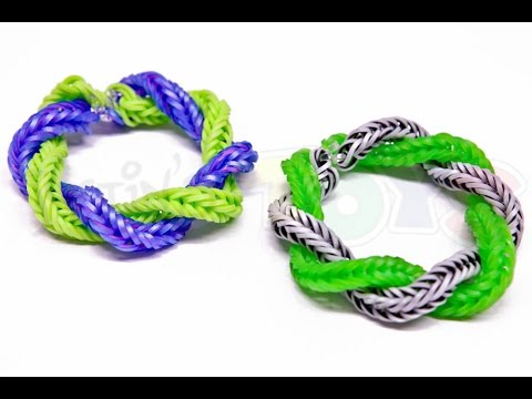 How to Make a Rainbow Loom Twist Away Bracelet - EASY