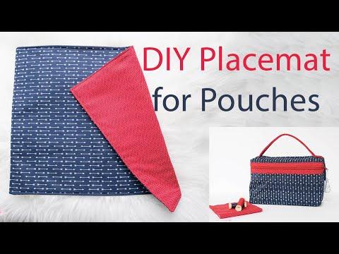 DIY Placemat (for Zipper Pouches)