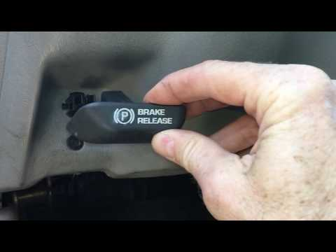 Parking Brake Release Cable Replacement Chevrolet GMC Truck