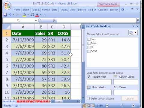 Excel Magic Trick #219: Pivot Table Macro w Dynamic Range #2