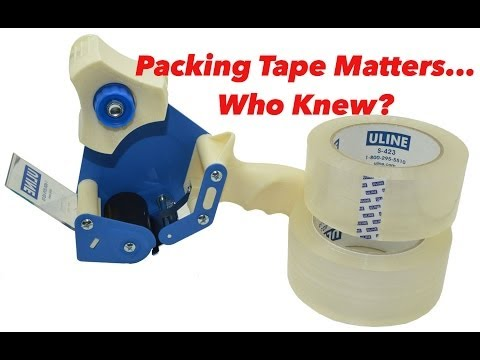 Best Tape For eBay & Amazon Shipments?