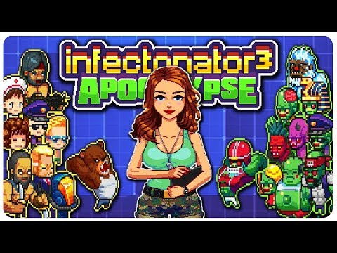Infectonator 3 - TRIGGERED Zombie = OP! | Infectonator 3 Apocalypse Gameplay #5