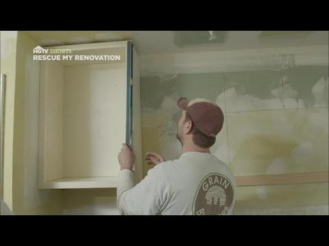 Installing Kitchen Cabinets | Rescue My Renovation | HGTV Asia