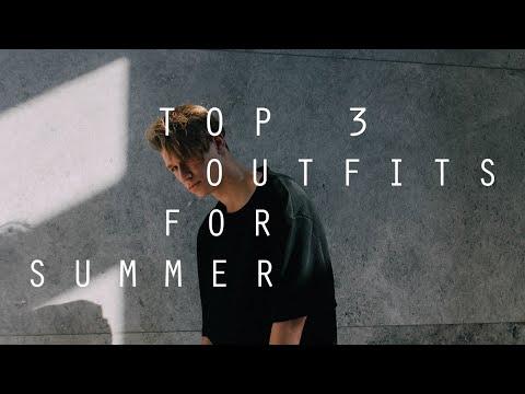 Top 3 Summer Outfits | Summer Look Book | Zac macfarlane