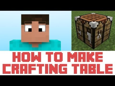 Minecraft Tutorial - How To Make A Crafting Table