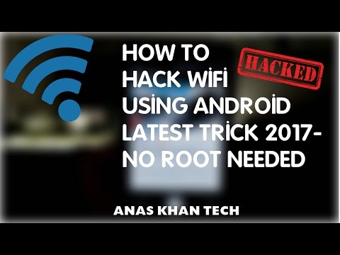 How to HACK Wifi Password in Your Android Device 2017!-no root needed.:)