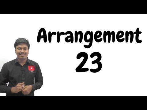 ARRANGEMENT _ #23 ( For all BANK EXAM)