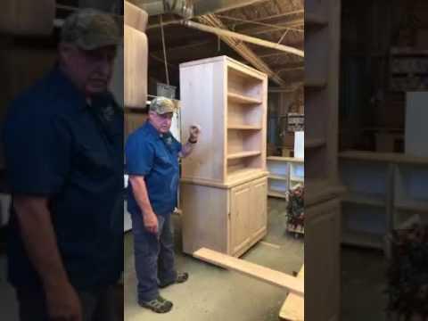 Concealed Gun Cabinet in Progress