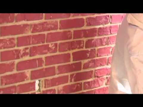 Urestone Faux Brick Veneer Panel Installation