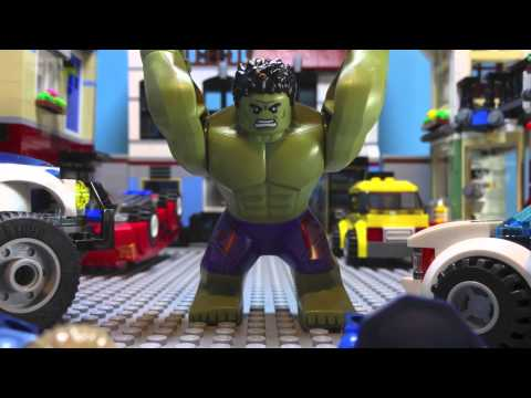 TEST SHOOT- LEGO AVENGERS: AGE OF ULTRON