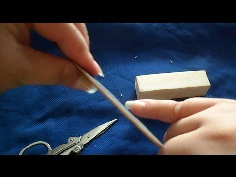 Artificial (Fake) Nails - How to Trim/File them?