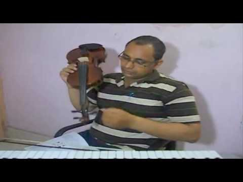 Easy Violin Tutorial for Beginners in Indian Style,Part-1