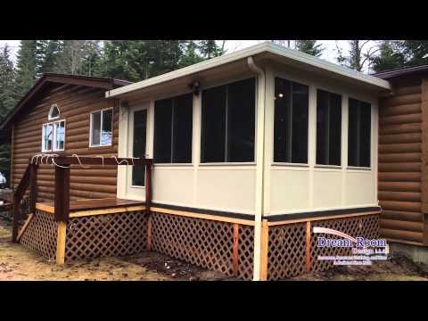From unused deck to beautiful sunroom in Athol, ID | Customer Testimonial