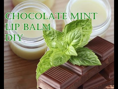 Hot Chocolate Mint Lip Balm Recipe