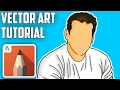 How To Make Vector Artwork On Android| Easy To Make