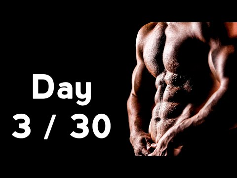 30 Days Six Pack Abs Workout Program Day: 3/30