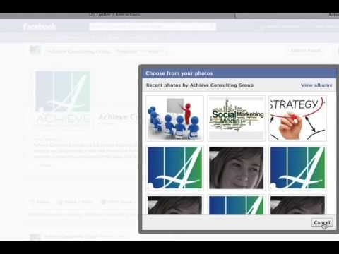 Facebook How To Upload Cover Photo