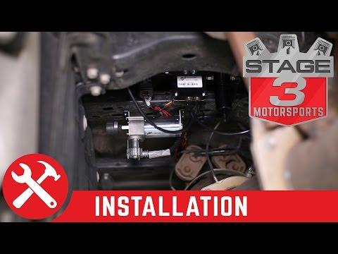 Air Lift WirelessAIR On-Board Air Compressor System Install