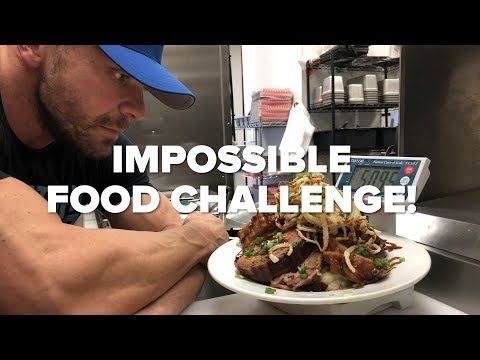 Food Challenge NOBODY Can Finish - The BBQ Production | Machine Vs Food
