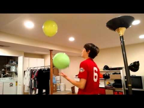 Balloon Challenge with Justin and Kaleigh!