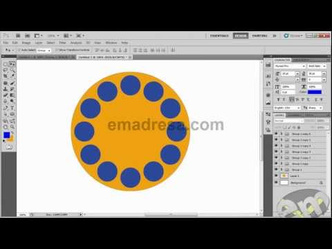 12 circles in 1 Photoshop Cs3 ( Request Tutorial )