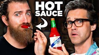 Hot Sauce Lip Gloss Test