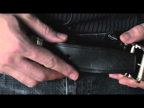 How To Fasten A Belt Buckle