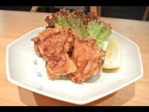 Japanese fried chicken recipe - Tori no karaage - 鳥のから揚げ