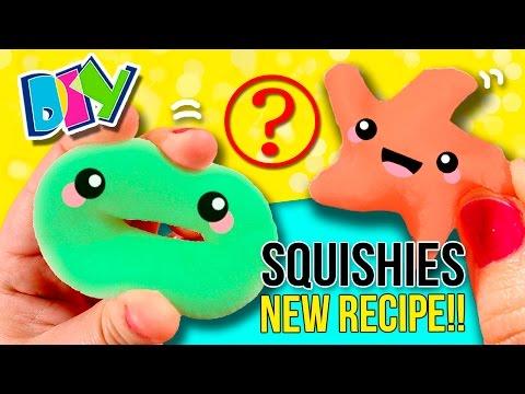 How to make homemade SQUISHIES 😱 NEW RECIPE!! DIY Super EASY Stress Balls