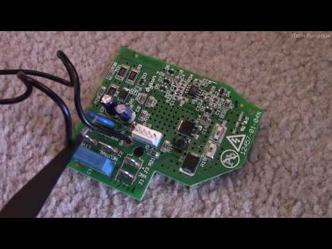 A Look at the Circuitry in a Dyson DC23 Powerhead