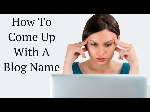 ✅ How To Come Up With A Blog Name ( Includes Live Example)
