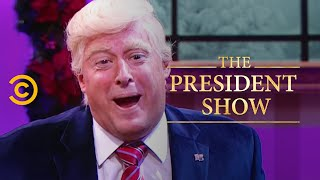 The President and the Press Need Each Other (Feat. Bebe Neuwirth) - The President Show
