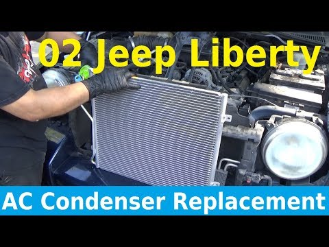2002 Jeep Liberty AC Condenser Replacement - Automotive Education