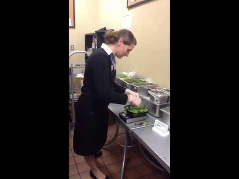Chick-fil-A Salad Training 4 of 10