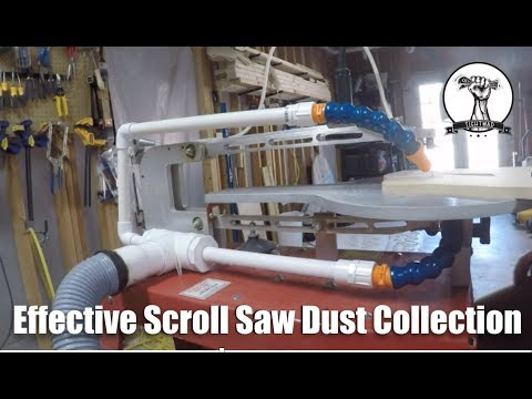 Effective Scroll Saw Dust Collection Jig