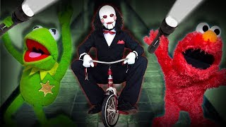 Kermit The Frog and Elmo Play A Game!