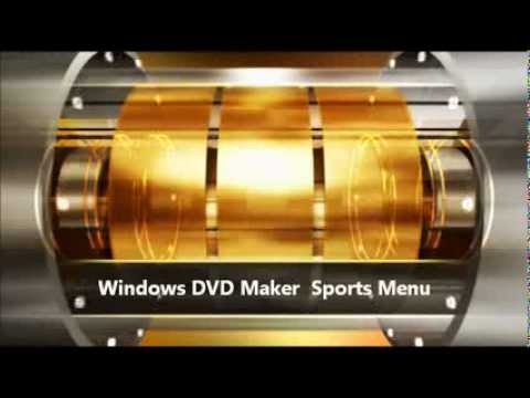 Use Windows DVD Menu Animations in Movie Projects