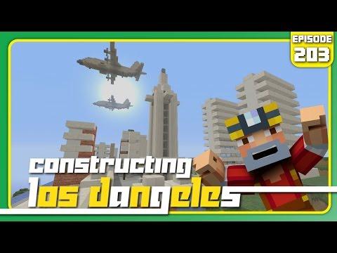 Minecraft Xbox 360: Constructing Los Dangeles - Episode 203! (City Hall & Mini LD!)