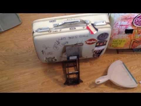 OBM R&D: Suitcase Kick Drum Stands incl. Converted Bike Pump