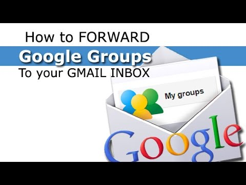 Forwarding Google Group Posts to your GMail Account