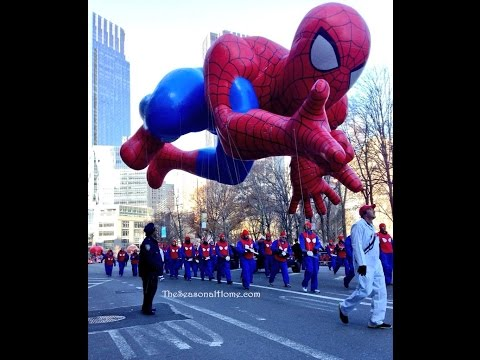 Macy's Thanksgiving Day Parade & a little New York City holiday spirit