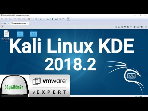 How to Install Kali Linux 2018.2 KDE + VMware Tools + Review on VMware Workstation [2018]