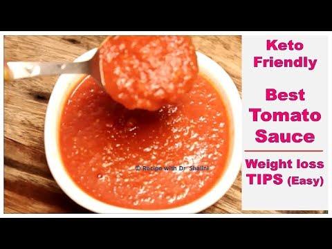 Tomato SAUCE से Weight-Loss कैसे? Keto Diet friendly | Recipe