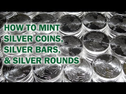 How to Mint Silver Coins, Rounds, & Bars - Quality Silver Bullion Tour