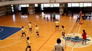 [2012大資盃] 資科女排 vs 中央資工 part4